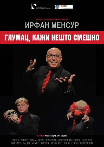 glumac_kazi_nesto_smesno_plakat